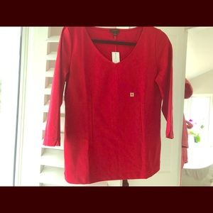 NWT classy red top